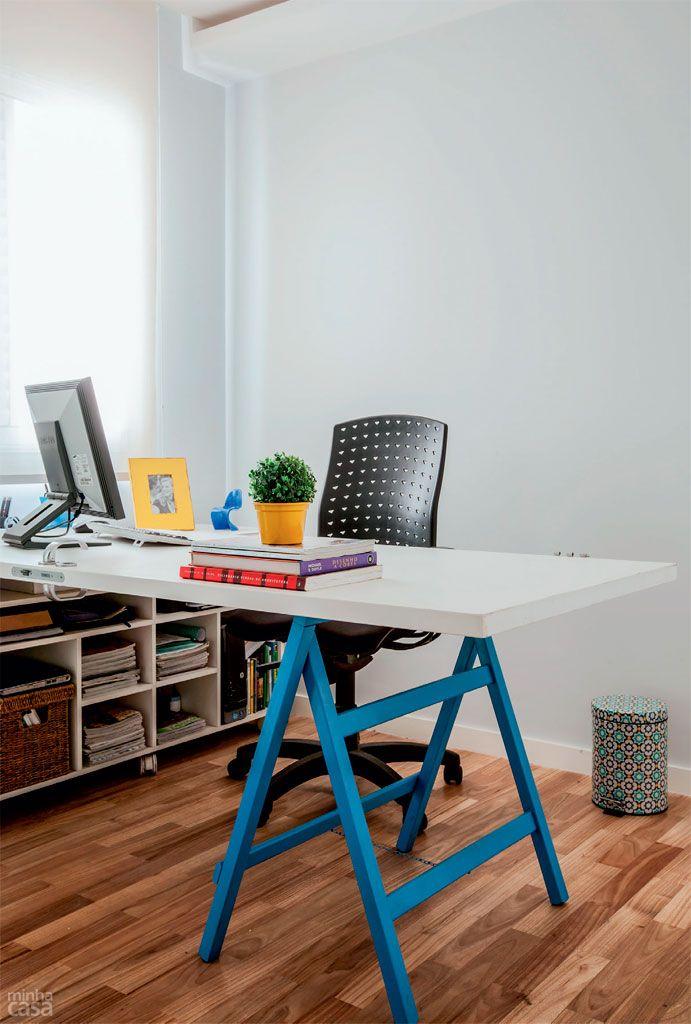 Apartamento com decora o descolada sem abrir m o do for Bbdo office design 9