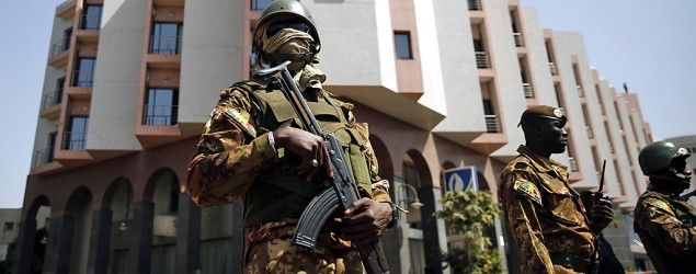 Security at the Radisson Blu hotel in Bamako, Mali, after last week's attack. (Jerome Delay/AP)