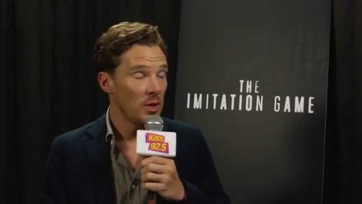 THE IMITATION GAME (2014) ~ Benedict Cumberbatch is interviewed on KISS 92.5 Radio during the Toronto International Film Festival, in advance of the September 9th screening of THE IMITATION GAME. (5:42) [Video]