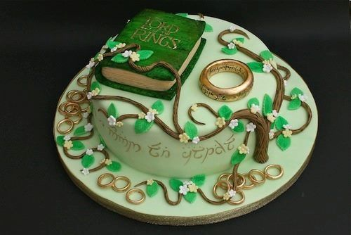 Lord of the Rings Cake This is just the most awesome cake ever! And I don't even like cake!
