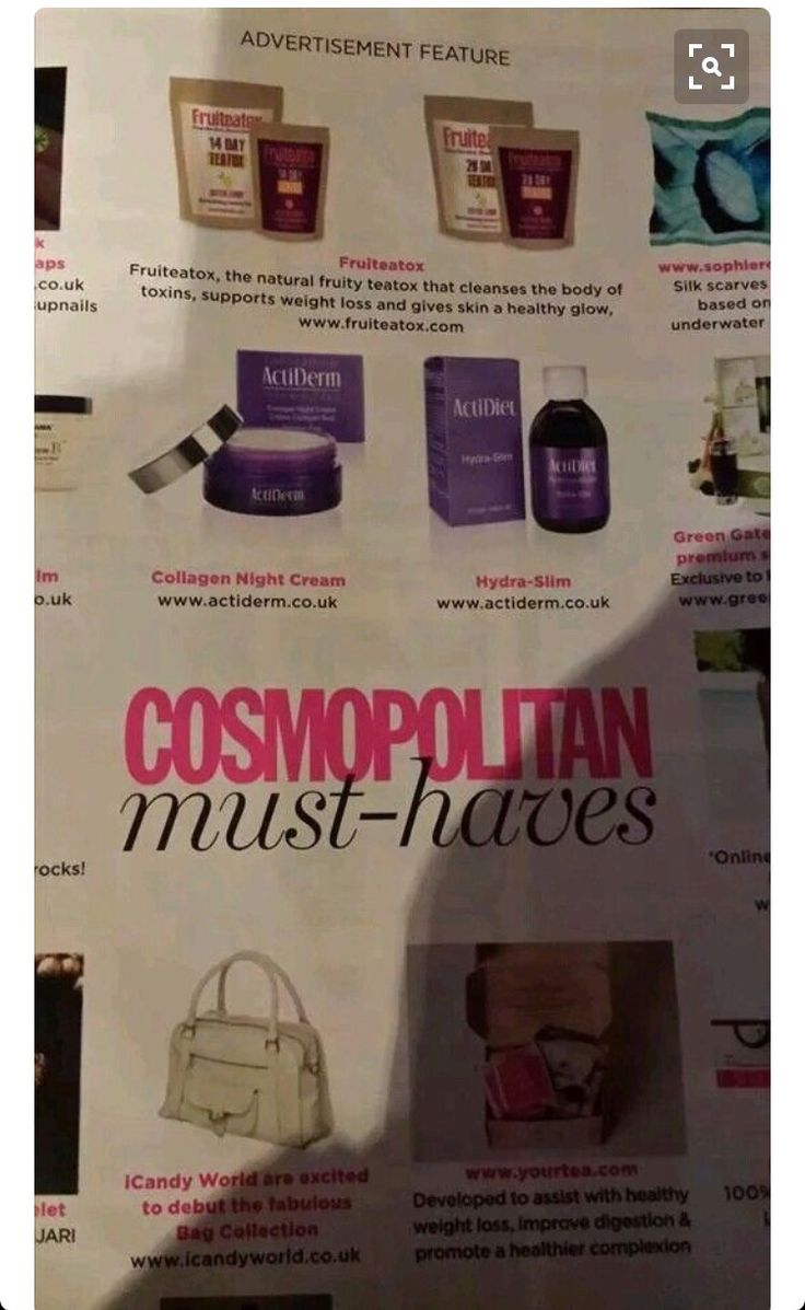 Acti products have been featured in Bazaar and Cosmopolitan! Check them out today Facebook.com/actilabswithkellyross