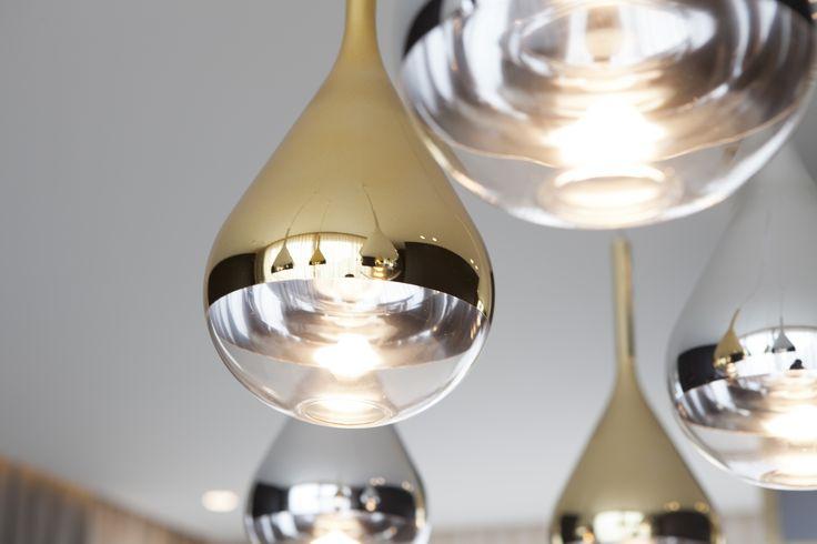 Byron & Jones Interiors - Lighting - Gold - Chrome -