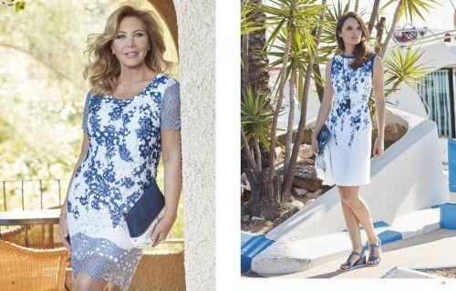 Vestidos Punto Roma, moda primavera verano 2018 (1)