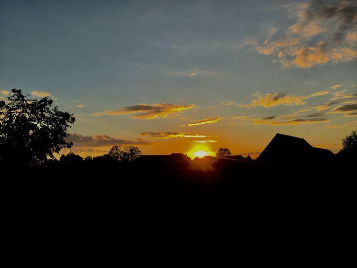 #ClujCounty❤️ #Bontida #Sunset
