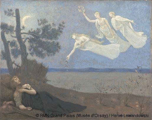Pierre Puvis de Chavannes ,The Dream,© RMN-Grand Palais (Musée d'Orsay) / Hervé Lewandowski