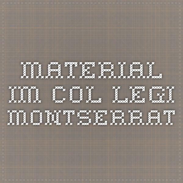 Rúbriques x   IM del Col.legi Montserrat