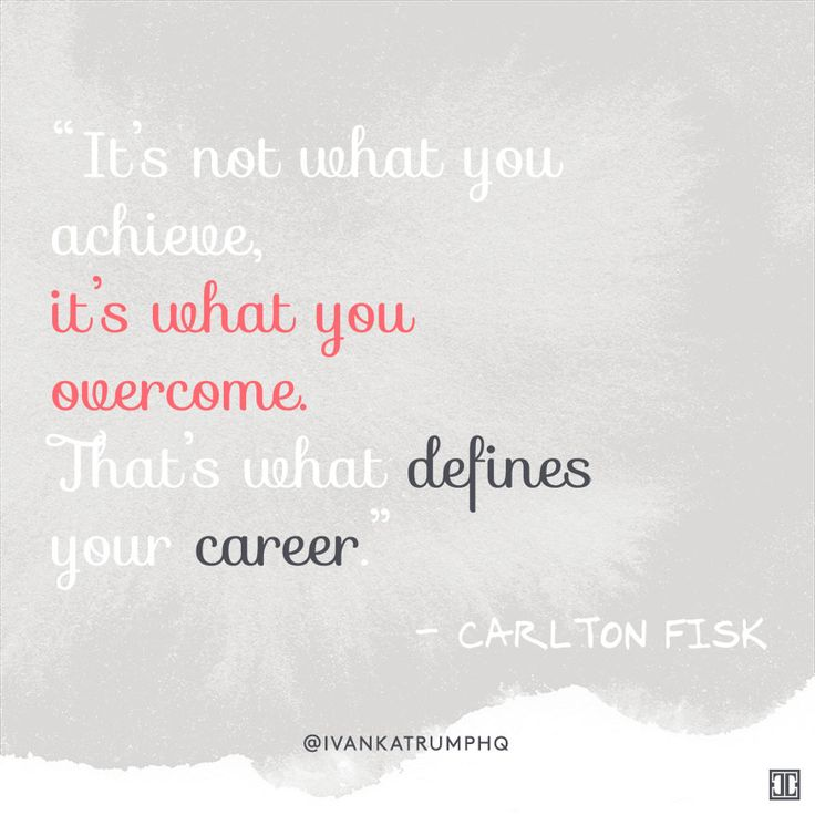 #WiseWords from Carlton Fisk — Ivanka Trump