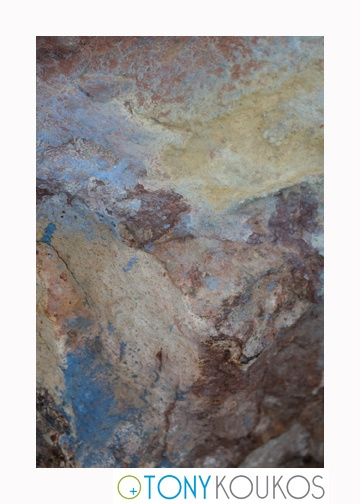 rocks, paint, swirls, pastels, soft, aged, dodecanese islands, greece, Tony Koukos, Koukos