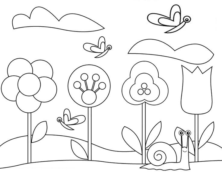 18 best gardening coloring pages images on Pinterest | Kids net ...