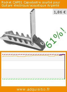 Rocket CAP01 Capodastre courbé pour Guitare électrique/acoustique Argenté (Appareils électroniques). Réduction de 61%! Prix actuel 1,86 €, l'ancien prix était de 4,73 €. http://www.adquisitio.fr/rocket/capodastre-guitare