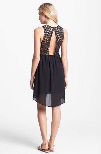 Crochet Top Cutout Dress