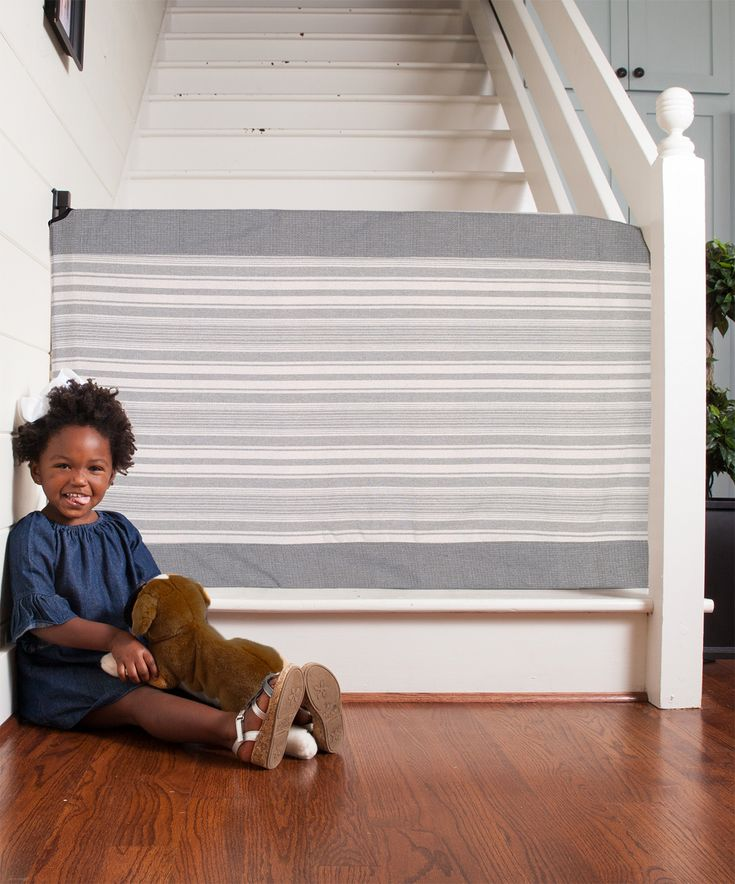The @StairBarrier not only keeps the staircase safe with little children, it looks amazing! #PNpartner