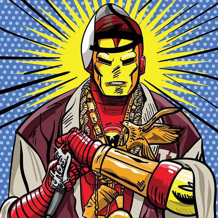 Tony Stark's aka Ghostface Killah
