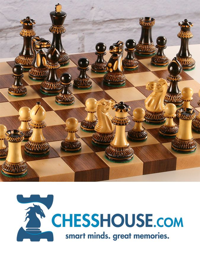 Chess set pieces are hand carved by master artisans from high grade woods. The pieces are heavily weighted for a superb chess playing experience and beautifully finished complete with a luxurious billiard felt base. The wooden chess board is the limited edition STACK, #handmade by a 5th generation woodworking family in rural Pennsylvania: http://www.chesshouse.com/the-STACK-hardwood-chessboard-a/391.htm#.VmcWP8pLRv0