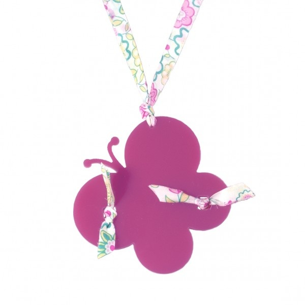 One butterfly necklace