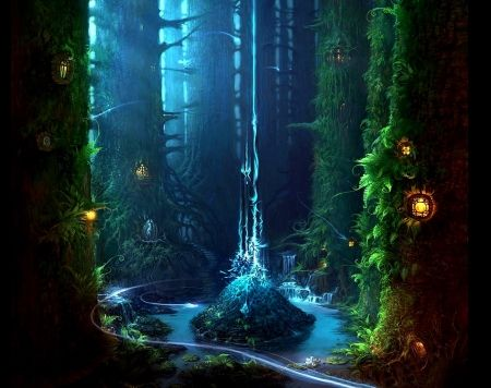 mystical, nymphs, and fairies | Fairy Forest Nymph ...