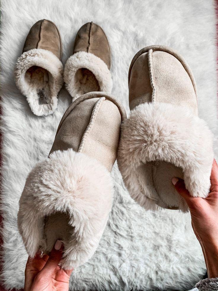 DUPED: UGG Slippers ($20 Amazon dupes