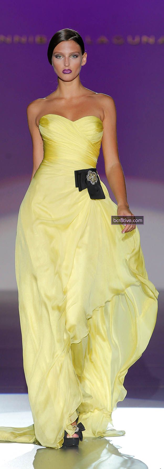 8 best ◈ Fashion Yellow images on Pinterest | Yellow, Evening gowns ...