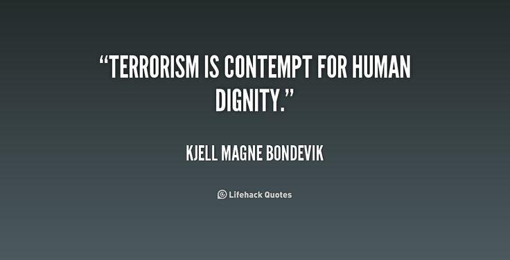 Terrorism quote