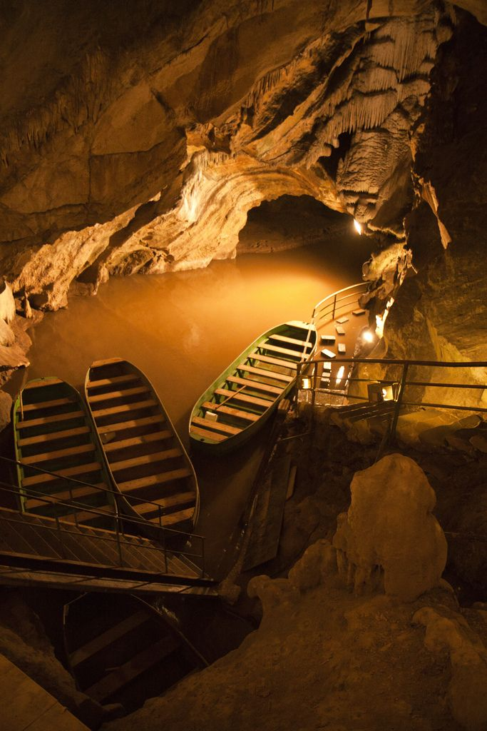 Remouchamps Grottes (underground river), Belgium