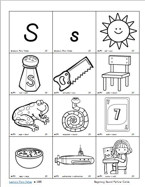 Mommy Maestra: Free Homework Book for Spanish Readers: Phonics Center