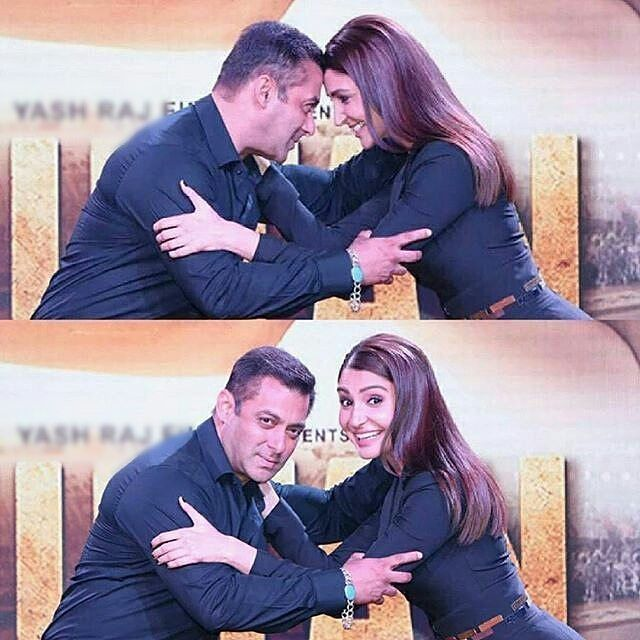 Salman Khan And Anushka Sharma At #Sultan Trailer Launch Sultan And Arfaa […