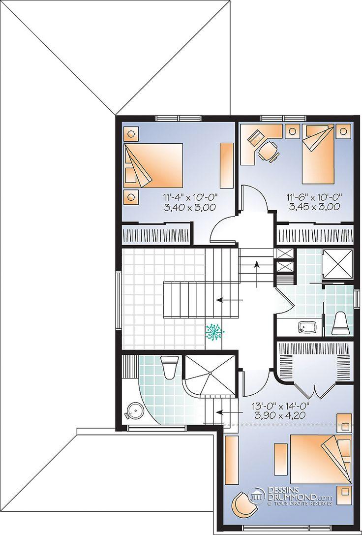 Zen / Contemporain   W3470   Maison Laprise - Maisons pré-usinées