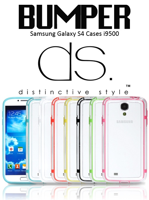Bumper Series Samsung Galaxy S4 Cases i9500 $20.21 http://www.dsstyles.com/samsung-galaxy-s4-cases/bumper-series.html