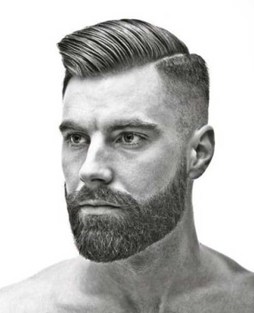 Mens Short Side Long Top Hair