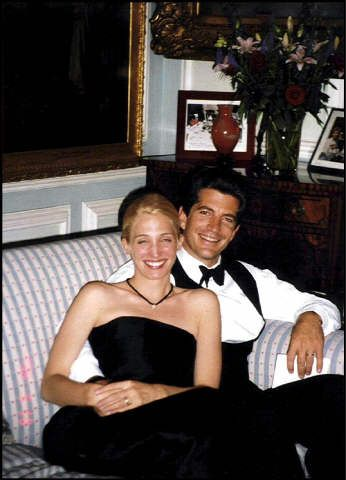 00/00/0000. EXCLUSIVE. File pictures of John John Kennedy and wife Carolyn Bessette Kennedy