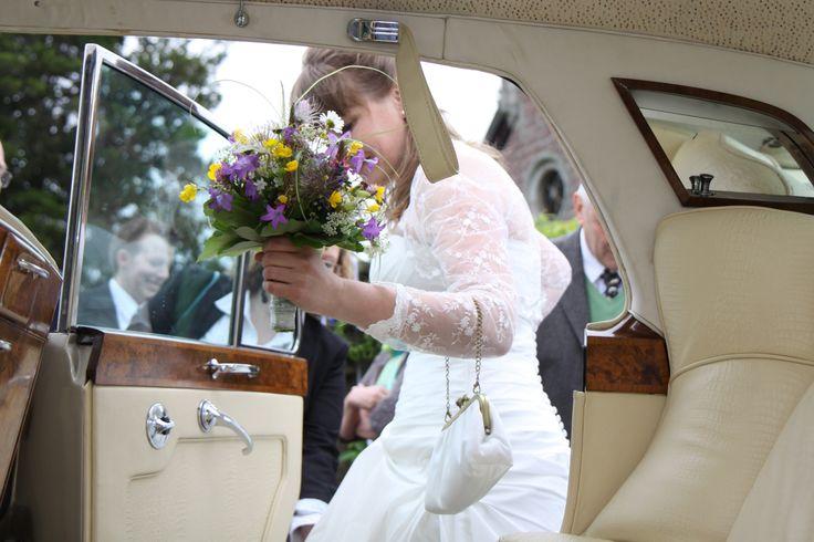Brauttasche aus Seide