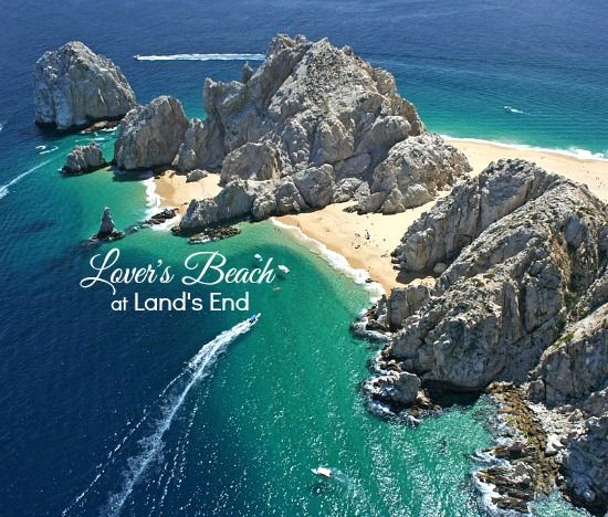 Lover's Beach at Land's End in Cabo San Lucas, Mexico: http://beachblissliving.com/lovers-beach-cabo-san-luca/