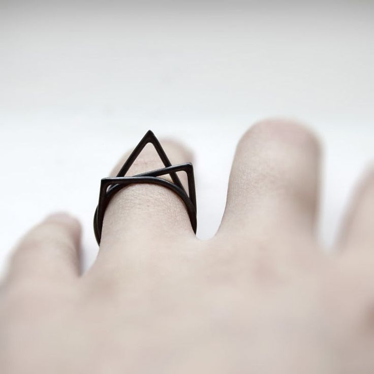 Thorn Ring Set by MIRTA $100.00 | Minimal