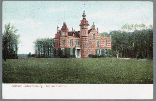 """Huize """"Stoutenburg"""" aan de Stoutenburgerlaan, gemeente Stoutenburg."""