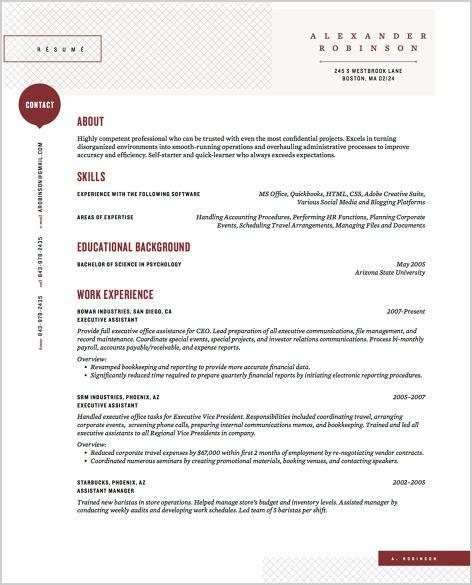 Více než 20 nejlepších nápadů na téma New resume format na Pinterestu - bullet point resume