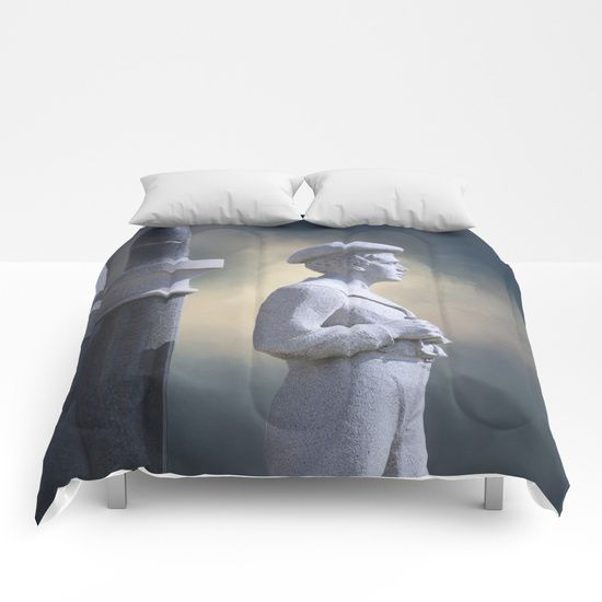 Our comforters are cozy, lightweight pieces of sleep heaven. Designs are printed onto 100% microfiber polyester fabric for brilliant images and a soft, premium touch. Lined with fluffy polyfill and available in king, queen and full sizes. Machine washable with cold water gentle cycle and mild detergent. 20% Off + Free Shipping Today! #Maritime #warrior #art #civil #war #SALE #memorial #comforter