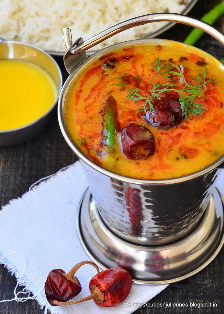 : RAJASTHANI DAL ½ cup, toor (arhar) dal ½ cup, moong dal ½ tsp, turmeric 1 nos, green chili, chopped 2 cups, water Salt as per taste For tempering:- A generous pinch of hing (asafoetida) ½ tsp, mustard seeds ½ tsp, cumin seeds ½ tsp, ginger, grated 4 nos, red button chilies 1-2 nos, green chili, slit 1 tsp, kasuri methi (dried fenugreek) ½ tsp, red chili powder Juice of one lemon 1 tbsp, ghee