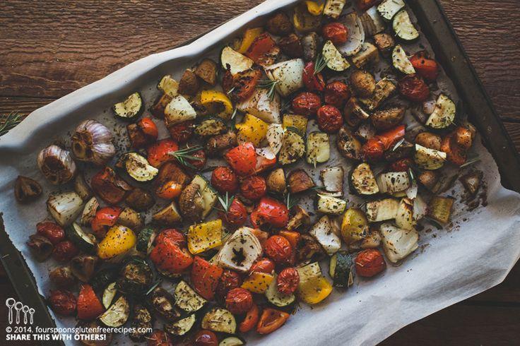 Roasted Italian Vegetables
