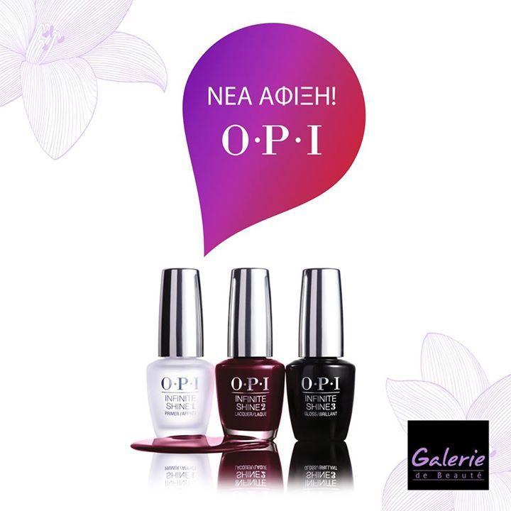 Φανταστικά νέα! Τα επαγγελματικά βερνίκια @OPI_products τώρα στα @Galerie_de_Beaute σε απίθανα χρώματα, που θα μας ξετρελάνουν όλες για τέλειο μανικιούρ! Σε επιλεγμένα καταστήματα. #galeriedebeaute #newarrivals #opi #nailpolish #mua #makeupaddicts #makeupartists