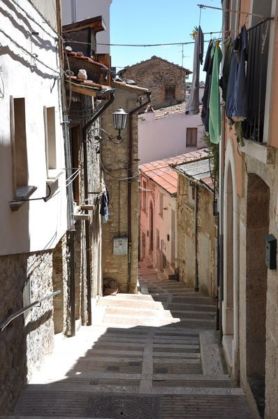 Campobasso, Molise Italy - Via Santa Cristina