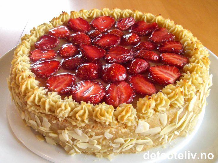 Margaretatårta | Det søte liv