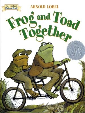 Frog and Toad Together....if I could go back in time, I'd go to this spot and read it again to my sister.....