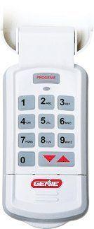 Genie GK BX Garage Door Opener Pro Intellicode Digital Wireless Keypad  Entry System   White