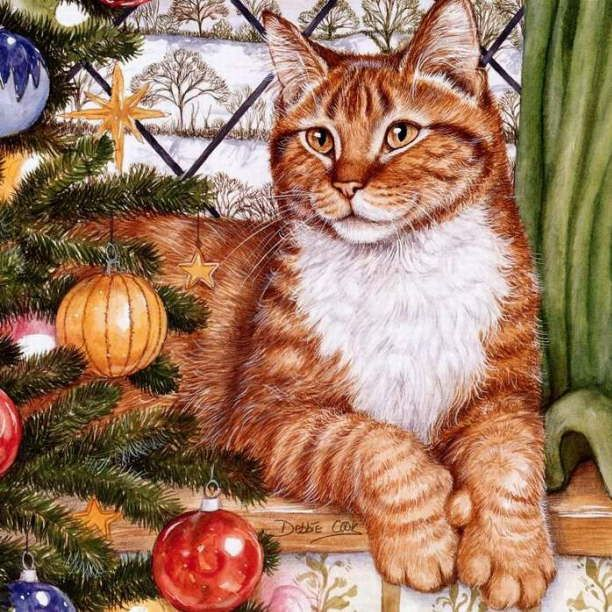 debbie cook cat art - Google Search