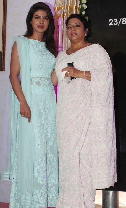 Wholesale Lucknow Chikan Suits   Designer Chikankari Kurtis   Anarkali Online : CELEBRITIES in Pure Georgette Chikankari Suits - Golden Mukaish/Kamdani Work