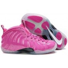 Womens Nike Air Foamposite One pink basketball shoes for sale