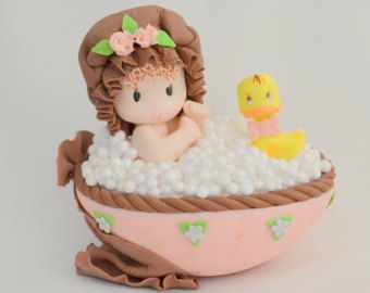 BABY GIRL cake topper. baby cake topper. baby shower cake topper. Cake topper. baby cake topper.