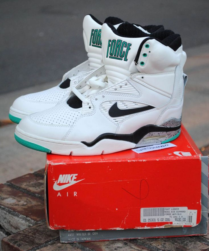 My holy grail of footwear The Nike Air David Robinson Command FORCE. The  first shoe
