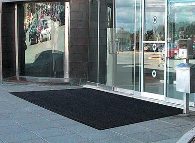 Astroturf is a unique type of floor matting solution that is best used for the entrance of commercial buildings.