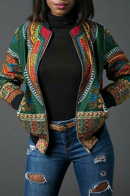 bomber jacket products i love pinterest mode africaine pagne et femmes africaines. Black Bedroom Furniture Sets. Home Design Ideas